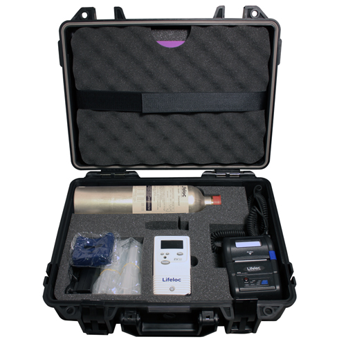 Alcohol: Lifeloc EV30 Evidential Alcohol Tester GK Kit
