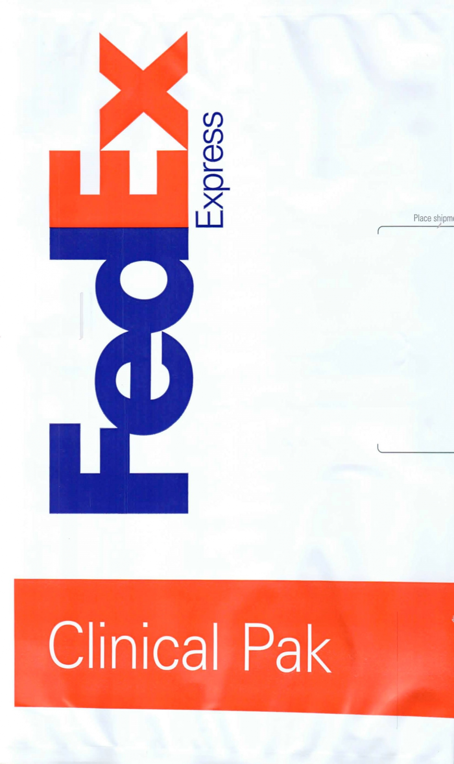 FedEx Shipping Bag